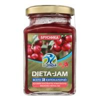 DIETA-JAM брусника (230г)