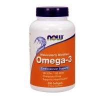 Omega-3 Molecularly Distilled (200капс)
