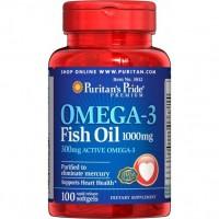 Omega 3 Fish Oil (100 капс)
