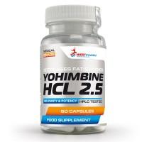 Yohimbine HCL 2.5 (60капс)